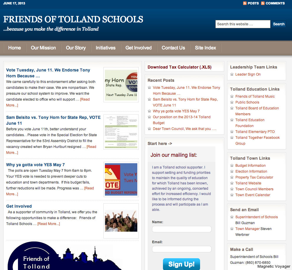 Friends of Tolland Schools