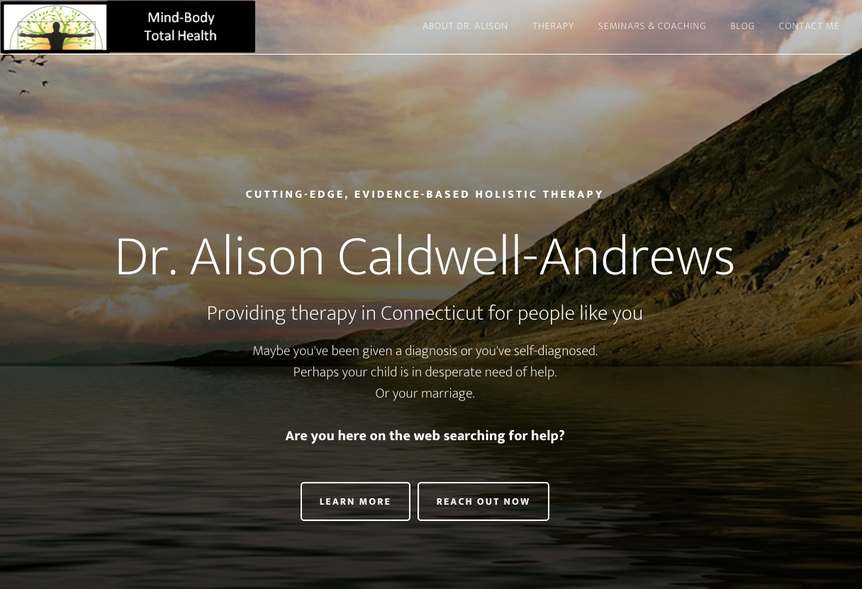 Dr. Alison Caldwell-Andrews